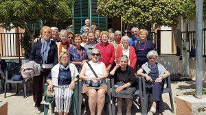 Gruppo di partecipanti alla Settimana comunitaria presso la Casa Balneare Valdese di Pietra Ligure.